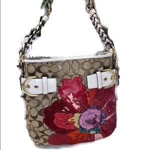 Coach Red Poppy *Limited Edition* Signature Bag